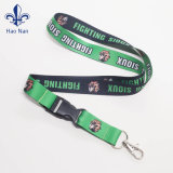 Customized Woven Jacquard Lanyard with Metal Hook