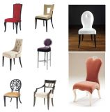 Leisure Chair+Stool for Hotel Bedroom Furniture Foshan Furniture