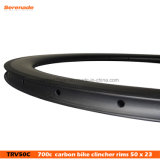 Chinese Factory Carbon Bicycle Rims 50 23 Width Tubular Bike Road Wheels Ultralight Rims