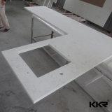 White Black Galaxy Sparkle Artificial Marble Stone Kitchen Quartz Stone Countertop