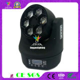 6X15W RGBW 4in1 LED Moving Head Beam Bee Eyes