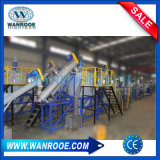 Waste PE PP Pet Milk Bottle Flakes Making Agricultural Film Jumbo Woven Bags Crushing Washing Line Plastic Recycling Machine