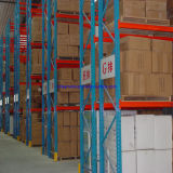 Certified Heavy Duty Storage Shelving Warehouse Rack for Fabric Textile Rolls and Tyre Storage