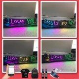 Full Color Wireless Flexible LED Display Text LED Display Logo Animation Display Panel Decorative Lighting