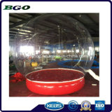 PVC Transparent Inflatable Clear Snow Ball for Christmas