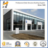 Prefab Steel Structure House/Supermarket/Warehouse/Workshop/Building with Glass Wall