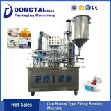 Plastic Roll Film Cup Water Cake Filling Sealing Machine