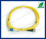 Fiber Optic Jumper Patch Cord LC-St Single Mold