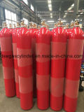 ISO9001: 2008 Standard Gas Cylinder with Cga-350 Export to Spain