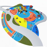 Kids Theme Park Outdoor Play Games Center