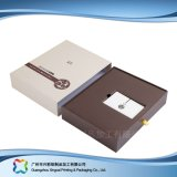 Luxury Wooden/Cardboard Drawer Packaging Box for Gift/Cosmetic (xc-hbc-007)