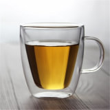 Double Layer Glass Thermos Coffee Water Cup