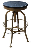Industrial Wooden Metal Furniture Steel Turner Vintage Toledo Bar Stools