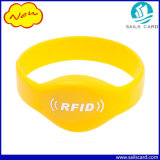 13.56MHz Waterproof Eco Friendly RFID Silicone Wristband