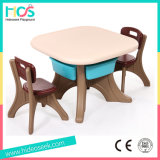 Plastic Kids Table and Chairs (HBS17076A)