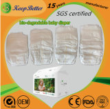 SGS Certified Disposable Eco-Friendly Bio-Degradable Supersoft Anti-Bacterial Sensitive Skine Premium Baby Diapers Manufacturer