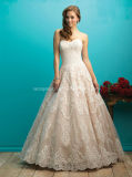 2016 Sweetheart Ball Gown Lace Bridal Wedding Dress