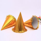 Golden Foil Paper Card Toying Hats