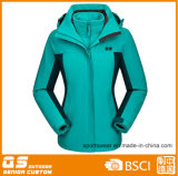 Women′s Sport 3 in 1 Outdoor Fashion Jacket