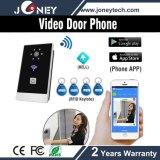 Smart Phone WiFi Wireless Video Door Phone with Card Reader