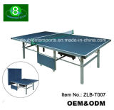 Best Folding Ping Pong Table for 18 mm Thickness Board MDF Table Tennis Table