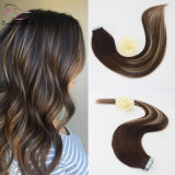 Two Tone Color 3/24# Mixed Honey Blonde Colorful Tape in Human Hair Extensions