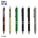 Promotional Cheap Metal Clip Advertising Plastic Ball Point Pen