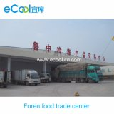 Low Temperature Cold Storage for Frozen Food Trade Center