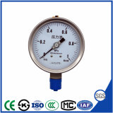 Top Standard 60mm Stainless Steel Pressure Gauge with Bottom Connection