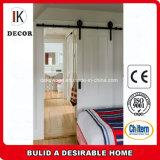 Paint Grade Interior Sliding Wood Barn Door for Bedroom