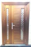 Wrought Iron Double Doors Mother Son Stainless Steel Door Guangzhou