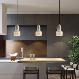Marble Brass Kitchen Chandelier Small Nordic Dining Pendant Lamp Creative