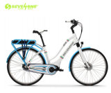 700c Aliminum Ladies Mountain Road Commuter Electric Bicycle
