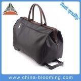 Waterproof PVC Rolling Wheels Luggage Trolley Travel Bag