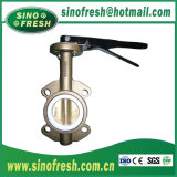SS304/SS316L Sanitary Stainless Steel Welded/Clamp/Thread Butterfly Valve