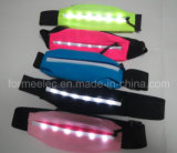 Sports Pockets Smart Phone Waist Band with LED Light