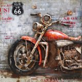 3 D Metal Decoration Oil Painting Wall Art