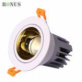 LED COB Spotlight 7-40W Home Decoration Spot Light Golden Lamp Ceiling Indoor Lighting Downlight