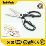 Stainless Steel Multifunctional Kitchen Scissors with Cover Cutting Meat and Fish