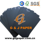 380GSM Grey Back Coated Black Paperboard with Moderate Price