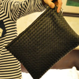 Favorable Price New Design Fashion Style Colorful Weaves Bag (9413)