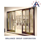 Top Quality Perfect Design Affordable Price Double Glass Aluminum Sliding Door