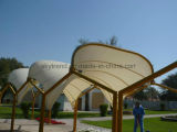 Outdoor Design Environmental Protection Membrane and Steel Structure Membrane