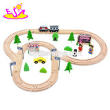 New Hottest 59 PCS Railway Wooden Toy Electric Train Set for Kids W04c078