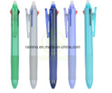 Promotional Good Quality 3 Color Plastic Gel Ink Erasable Ball Pen