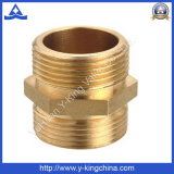 Forged Brass Straight Hex Nipple (YD-6001)