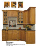 Oak Solid Wood Kitchen Cabinet (JX-KCSW031)