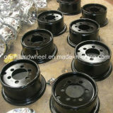 3 Piece Wheel Rim 4.33r-8 for Industrial Tyre