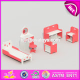 Wholesale Cheap Preschool Furniture Wooden Children Bedroom Furniture W08h074