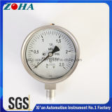 "Bottom Mount Ss Pressure Gauge 0-2.5MPa 1/2"" NPT"